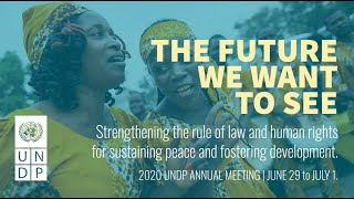 2020 UNDP Rule of Law Annual Meeting - Day 2