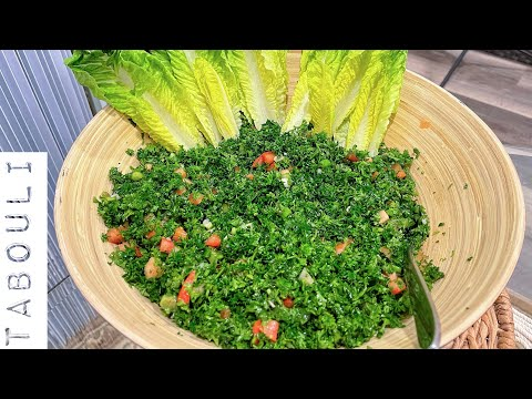 Best Authentic Lebanese Tabbouleh (tabouleh, tabouli): My Mother's Recipe