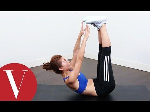 與adigirls林珈安一起做直腿捲腹鍛鍊你的核心肌群瘦小腹