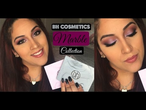Bh Cosmetics Marble Collection Warm Amp Cool Stone Review