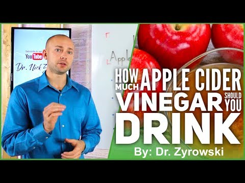 How Much Apple Cider Vinegar Should You Drink | Researched B