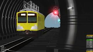 openbve 正丸トンネル信号所