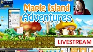 [LIVESTREAM] #MapleStory Adventures ♥ :') ft. Larry