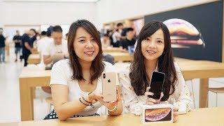 iPhone XS開箱:與iPhone X差異比較、手機螢幕保護貼推薦