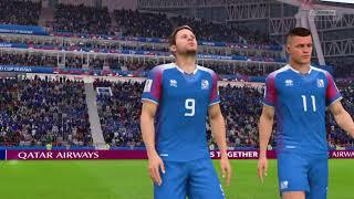 FIFA 18 Mundial Rusia 2018 Francia vs Islandia Octavos de final