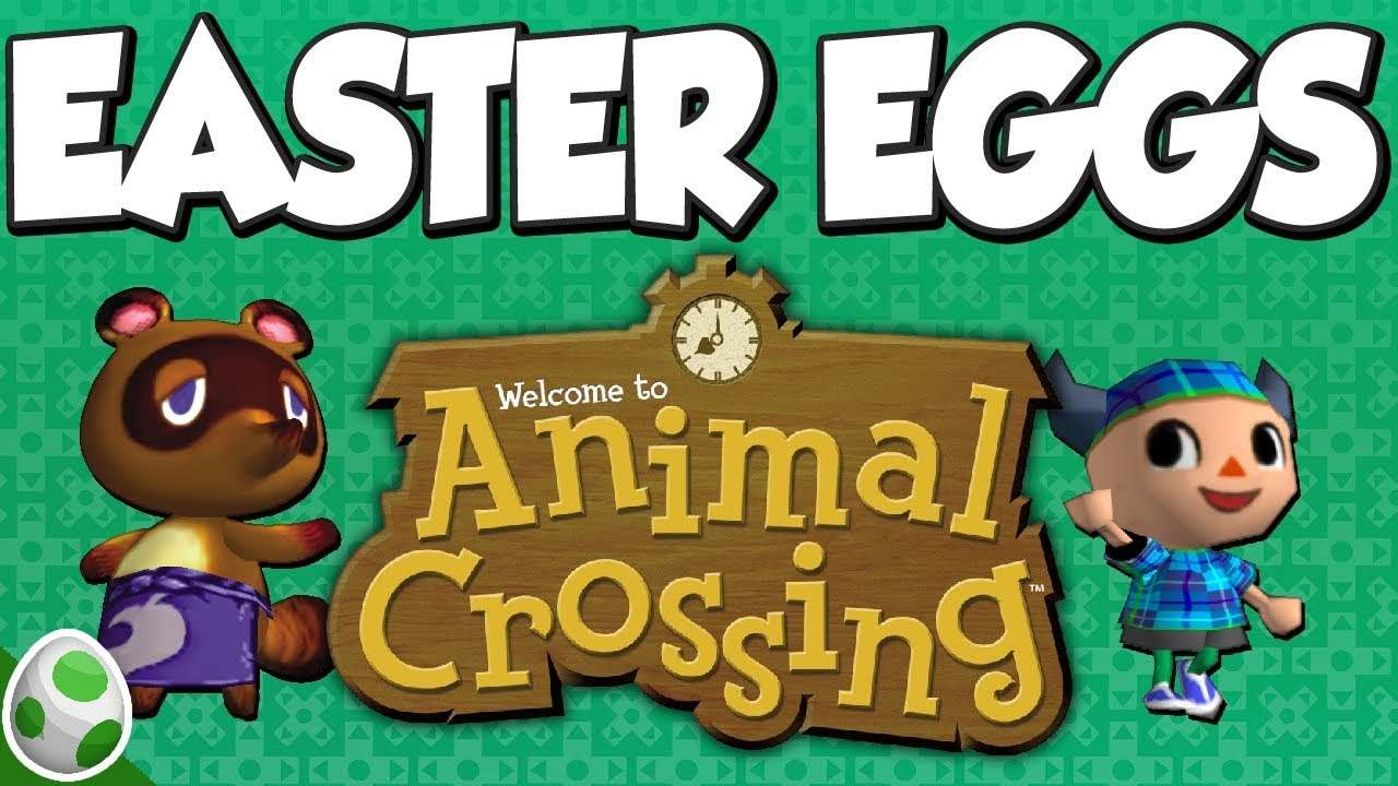 Easter Eggs in Animal Crossing (GC) - AC Easter Eggs and ...