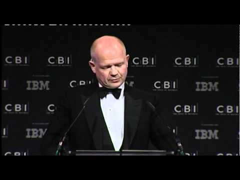 William Hague's speech to the CBI Annual Dinner