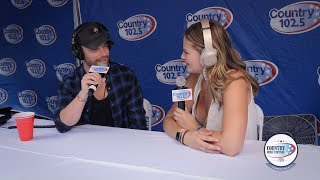 Chris Lane Interview - Country Music Festival