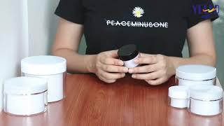 Wholesale Plastic Jars - Double Wall Cosmetic Jars / Face Cream Jars