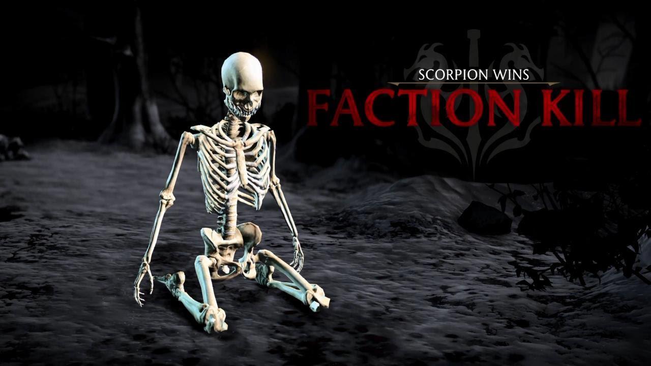Mortal Kombat Dragon: TODAS AS FACTION KILLS (Black Dragon