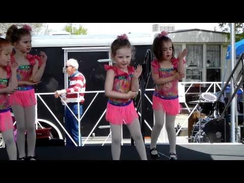 Bridget at the Eire Town Fair