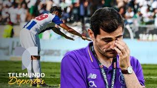 Iker Casillas rompe en llanto al dedicarle un gol   Telemundo Deportes