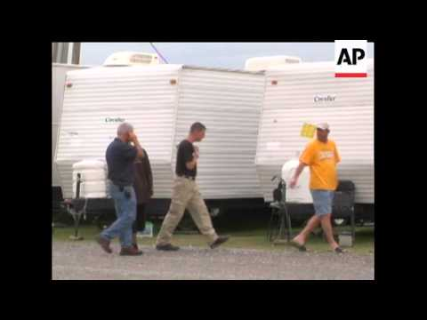 Media reports reveal the FEMA trailers used to house people following hurricane Katrina are reported