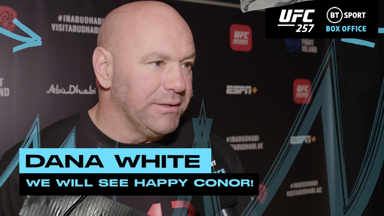 Dana White on Conor McGregor, Dustin Poirier and the release of Ottman Azaitar from UFC