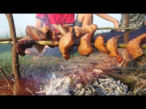Thịt Nướng Trên Đồng Sen | Cuộc Sống Đồng Quê