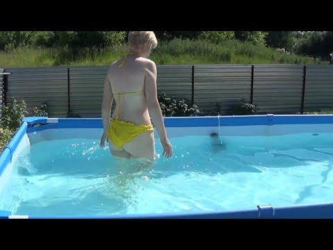 Важно НЕПОКУПАЙТЕ бассейн пока не узнаете Как правильно содержать басейн в чистоте.