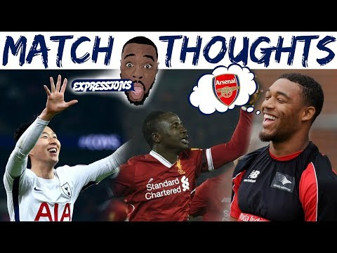 SPURS (4) EVERTON (0) , BOURNEMOUTH (2) ARSENAL(1), LIVERPOOL(4) MAN CITY (3)| EXPRESSIONS