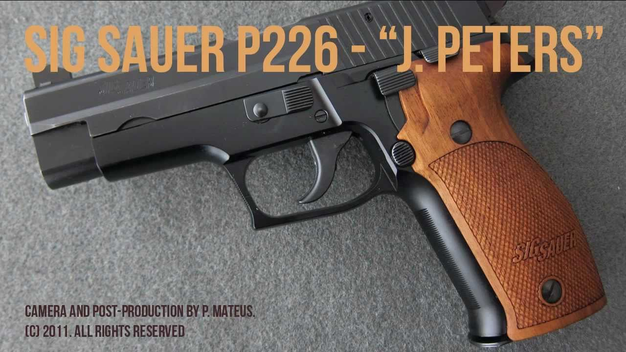 Sig Sauer P226 - J  Peters / Peters Stahl, made in West Germany (1992)