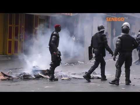 19 Avril: Dakar à feu et à gaz