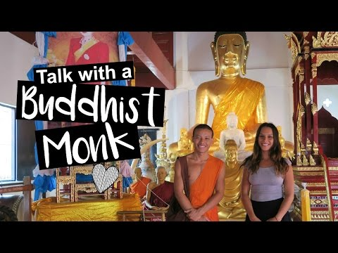 My Talk With A Buddhist Monk