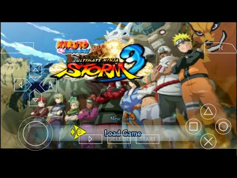 Download Naruto Shippuden Ultimate Ninja Storm 3 Mod PPSSPP In Android Mobile