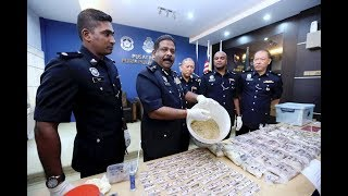 Rampas dadah bernilai RM300,000