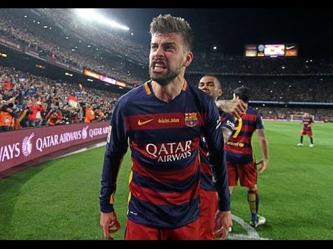 Gerard Pique - Best Fights & Angry Moments