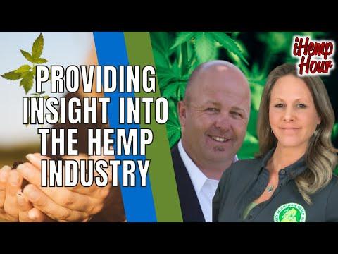 Jen Nelson, Mid Michigan Hemp Supply and Jeff Kostuik, Hemp Genetics International on the iHemp Hour