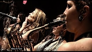 Sax quartet The Quadraphonnes live - Portland Jimmy Mak