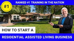 Turn Single Family Homes Into a Residential Assisted Living Cash Flow Machine! Gene Guarino
