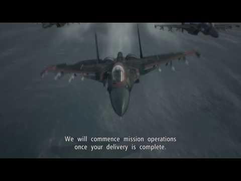 Ace Combat 6   Mission 1   Invasion of Gracemeria