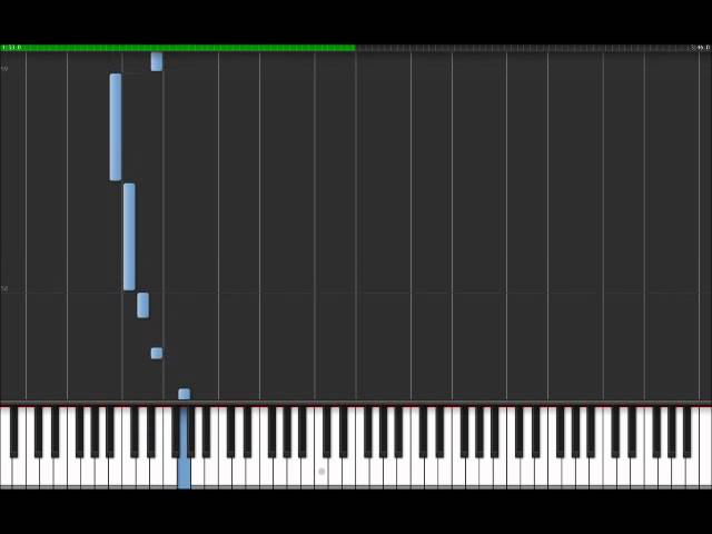 Seven Nation Army - White Stripes (Easy Piano Tutorial) in Synthesia ...