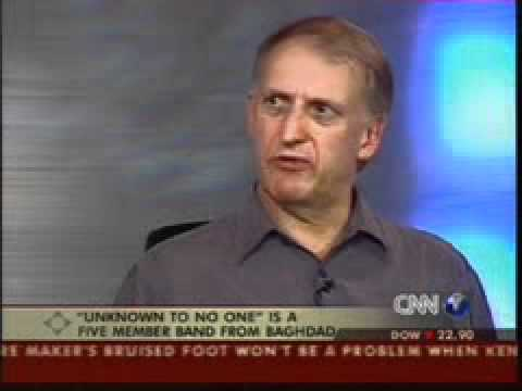 UTN1 Baghdad Band CNN Report with Peter Whitehead, English Producer 2004