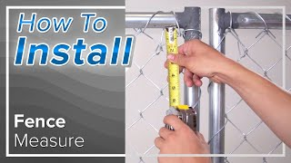 How To Measure for Privacy Fence Screen