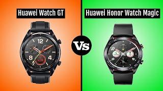 Huawei Watch GT vs Huawei Honor Watch Magic