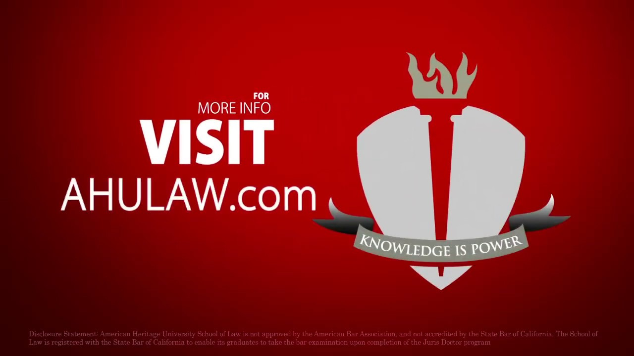About AHULAW Online Juris Doctor (JD) Program