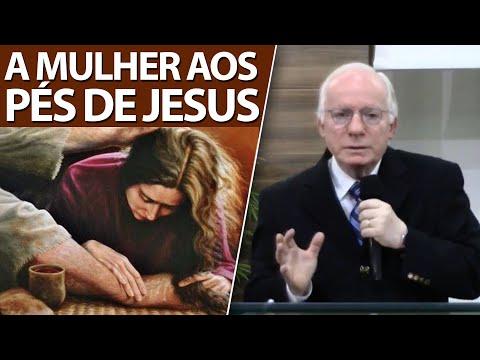 Pregação sobre a pecadora que ungiu os pés de Jesus   Pastor Paulo Seabra