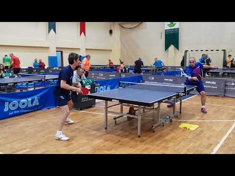 2018 Bursa veteran masa tenisi turnuvası . Mesut Barkale  & Mithan Koçanalı