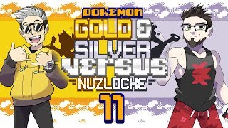 TWO OF MY FAVORITE THINGS! • Pokemon Gold and Silver Randomizer Nuzlocke Versus!