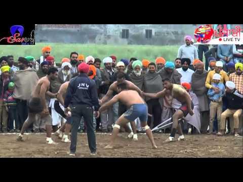 1st SEMI FINAL FULL HD  [Bachiwind Kabaddi cup Amritsar]