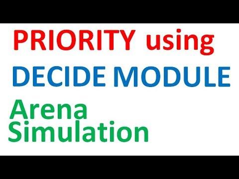 Arena Simulation Priority Health Center Emergency case Scenario 3