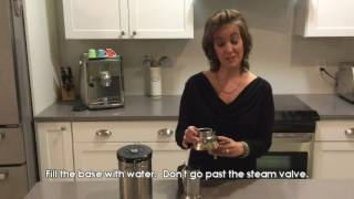 How to use the Alessi 9090 Stovetop Espresso Maker