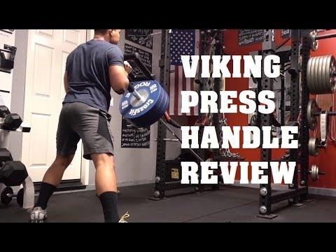 Titan Fitness Viking Press Handle Review