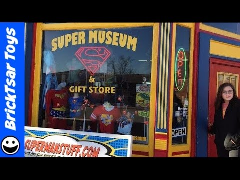 Superman Museum in Metropolis Illinois