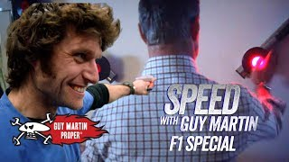 David Coulthard VS Guy - the strength & reaction tests | Guy Martin Proper