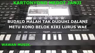 Kartonyono Medot Janji Karaoke Cewek Versi