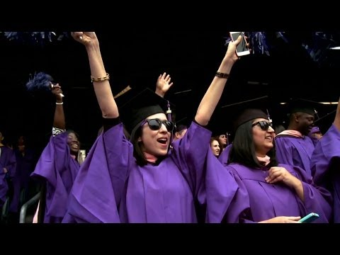 2014 NYU Commencement Highlights