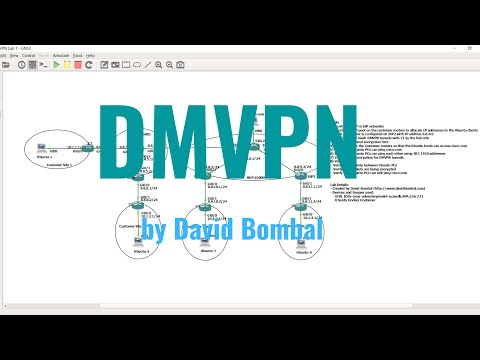 DMVPN, IPsec And NAT Across BGP Internet Routers By David Bombal - Answers Part 1-8