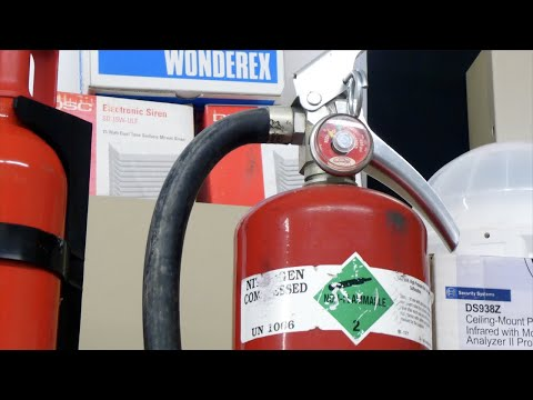 How To Refill A Fire Extinguisher With Water