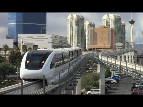 Las Vegas Monorail Train - NAB Show Special